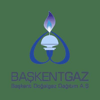 Başkentgaz firmasına ait logo