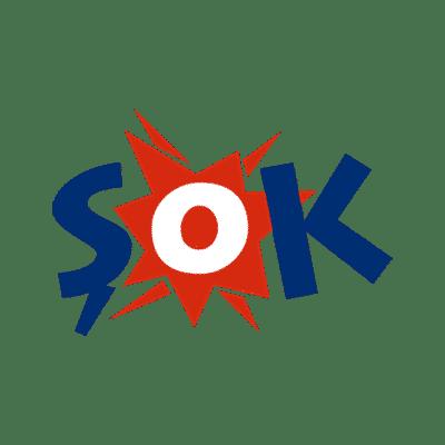 Şok firmasına ait logo